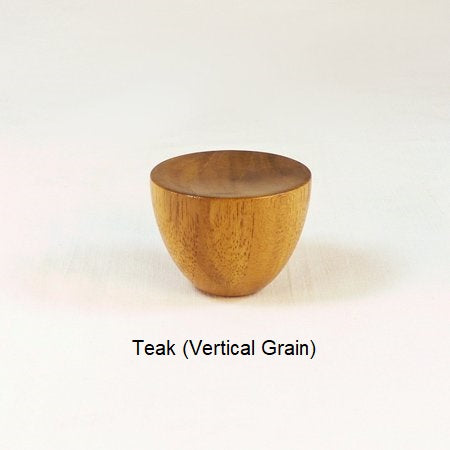 Wooden Lamp Finial Cup 5 Teak