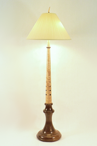 Hand Made Wooden Floor Lamps By Picinae Studios