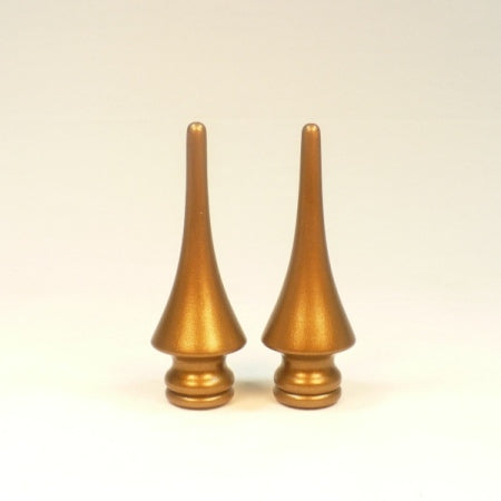 Custom Lamp Finials, Matching Pair, Reproductions