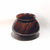 Specialty Wooden Bowl Handmade from Macassar Ebony