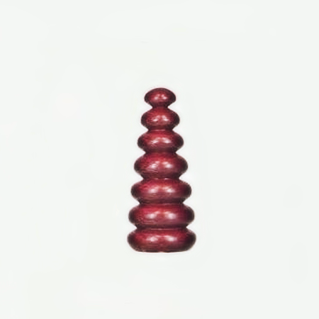 Wood Lamp Finial Purpleheart Spires 28