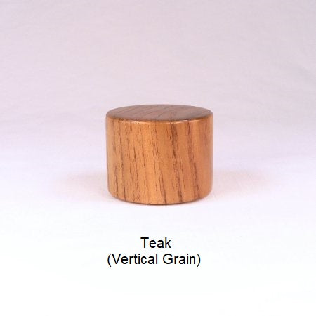Teak Wood Lamp Finial Handmade By Picinae Studios