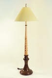 Custom Wood Floor Lamps Hand Made By Picinae Studios