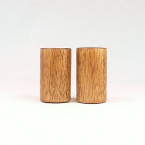 Custom Wooden Lamp Finials, Tall Drum Shape