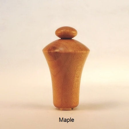 Wooden Lamp Finial Button 5 Maple