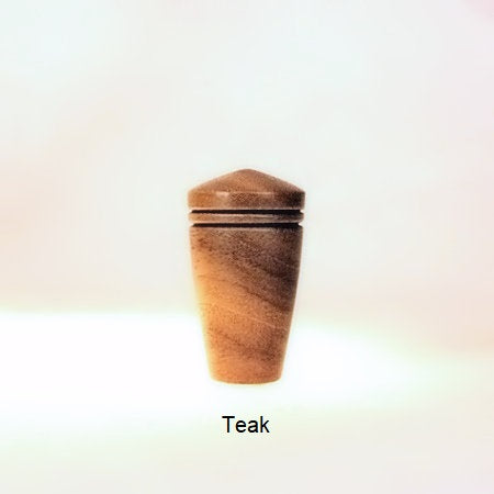 Wooden Lamp Finial Dome 6 Teak