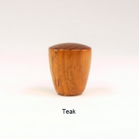 Teak Wood Lamp Finial Dome 8