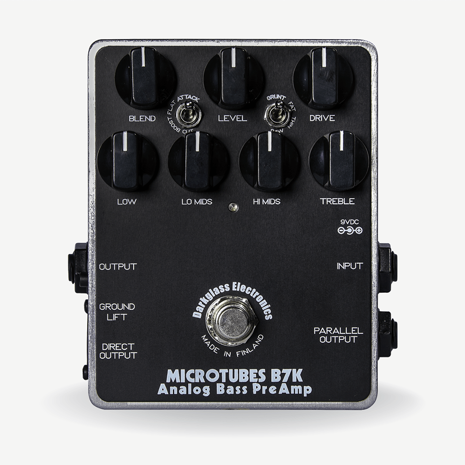Darkglass Electronics - Microtubes B7K Analog Bass PreAmp / Overdrive