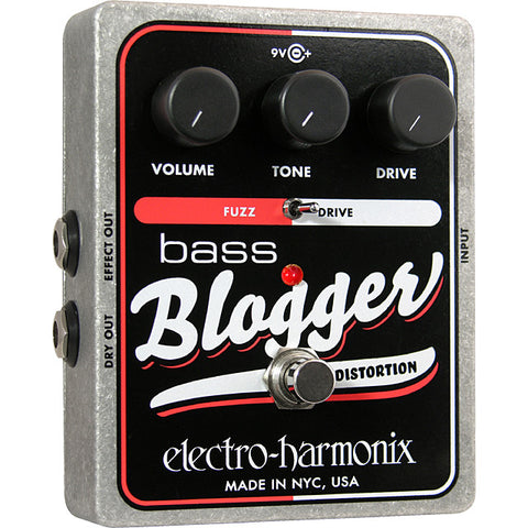 Electro-Harmonix Bass Blogger Distortion / Overdrive