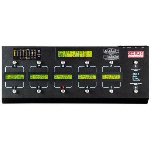 G Lab - Guitar System Controller GSC-5