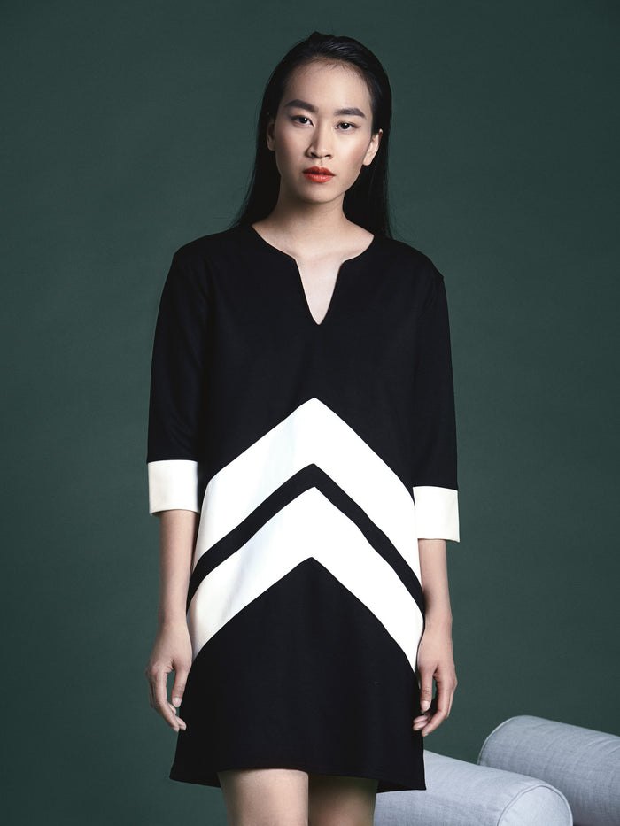 Olivia color-block Tunic (more colors available)