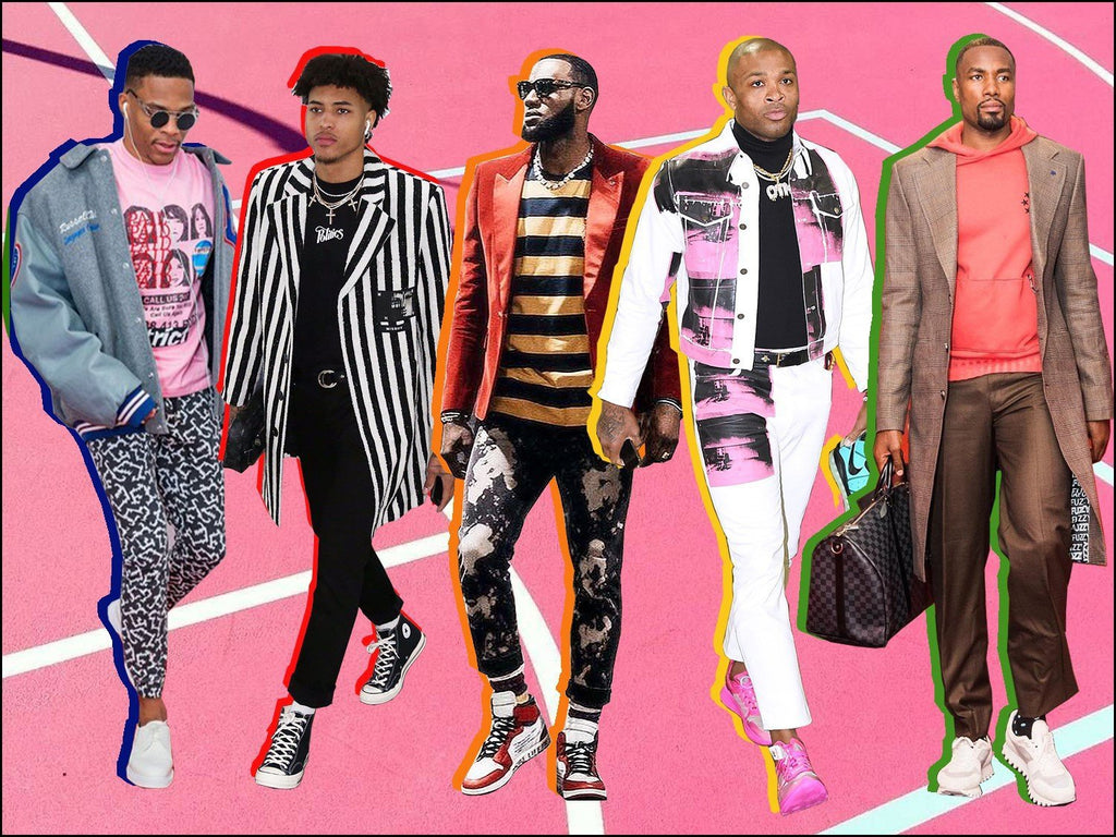 Why NBA Players Are The New Style Icons