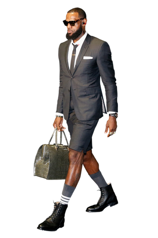 Lebron James short suit
