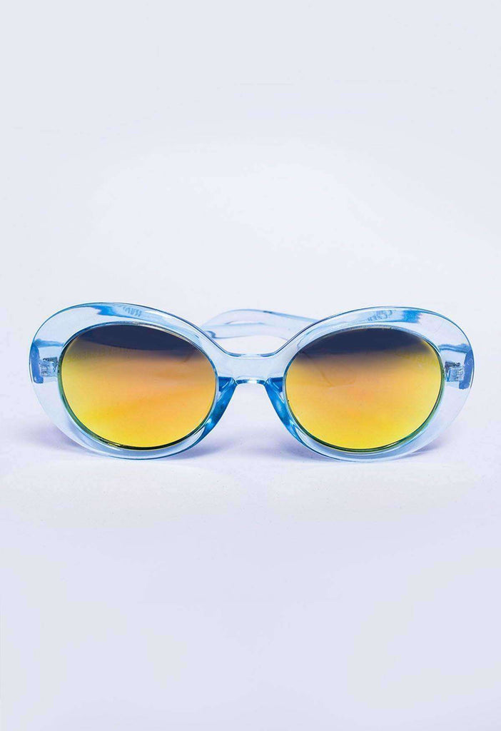 Ice Blue Roswell Sunglasses - HAYLEY ELSAESSER