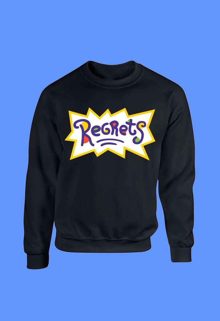 Regrets Crewneck - HAYLEY ELSAESSER