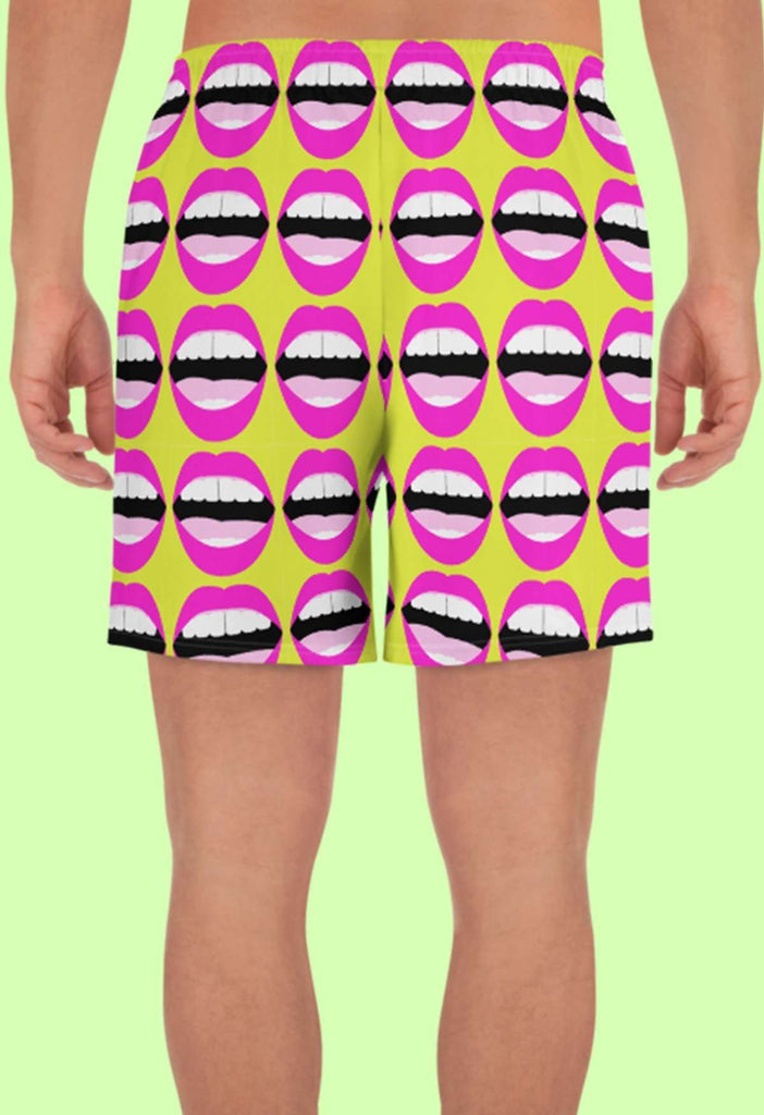Mouthy Print Shorts - HAYLEY ELSAESSER