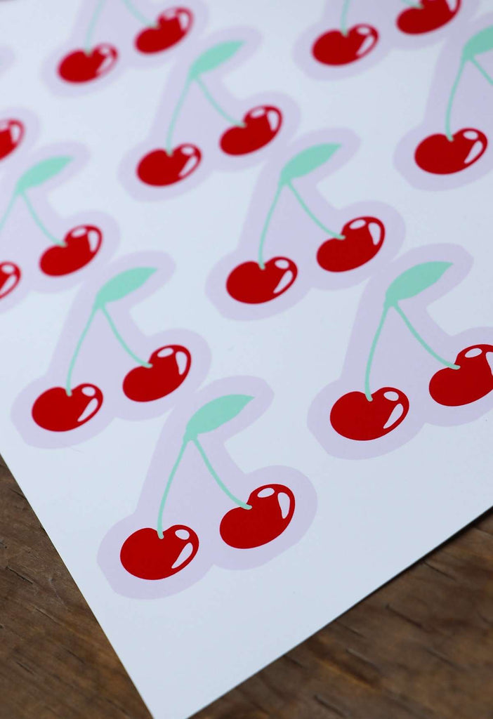 Cherry Iron On Print - HAYLEY ELSAESSER