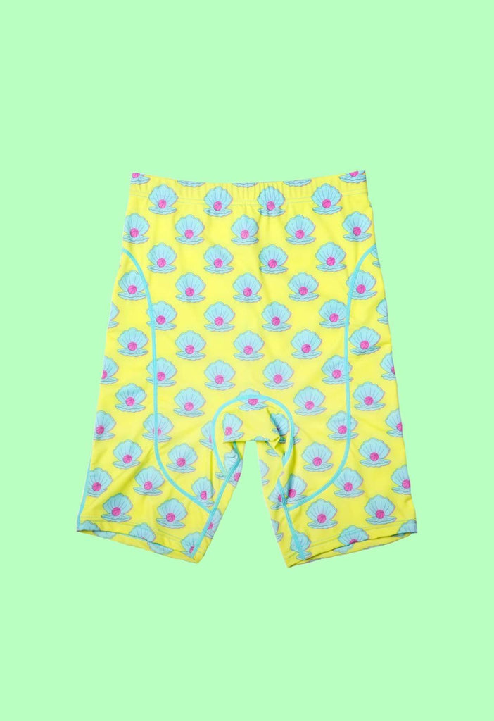 Clam Dunk Bike Shorts - HAYLEY ELSAESSER