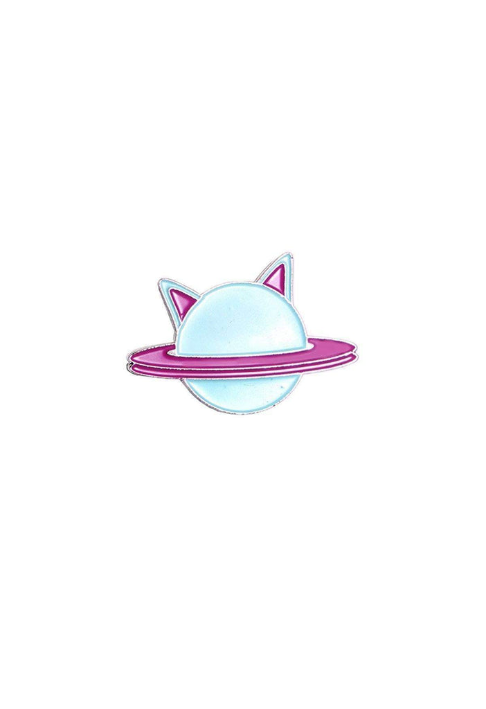 Cutie Cat Planet Pin