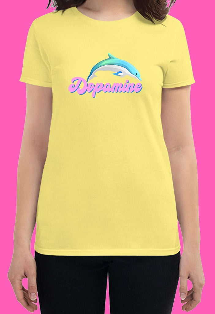 Dopamine Fitted Baby Tee - HAYLEY ELSAESSER