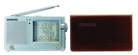 Sangean PT-10 AM/FM Stereo LW/SW Shortwave World Band Travel Radio - iPaces Consumer Electronics