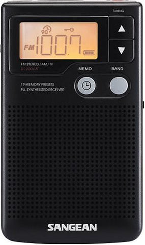 Sangean DT-200X FM-Stereo AM/FM Digital Tuning Personal radio receiver - iPaces Consumer Electronics