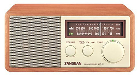 SANGEAN WR-11 AM/FM Table Top Radio - iPaces Consumer Electronics