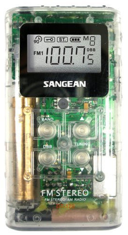 Sangean DT-120CL A/M / FM Pocket Receiver - iPaces Consumer Electronics