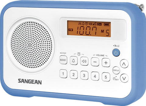 Sangean PR-D18 Portable AM/FM/Clock Digital Radio