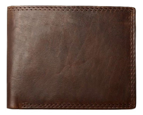 Men's bifold genuine leather RFID blocking wallet - iPaces Consumer Electronics - 1
