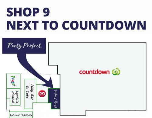 We're located in Shop 9, next to Countdown in Lynfield Shopping Centre