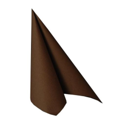 "50 Napkins Brown ""ROYAL Collection"" Large"