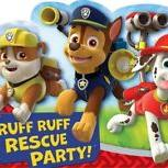 8 Invitations Paw Patrol