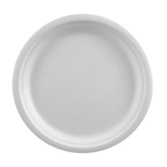 12 Plates not divided White 23cm x 2cm Pure