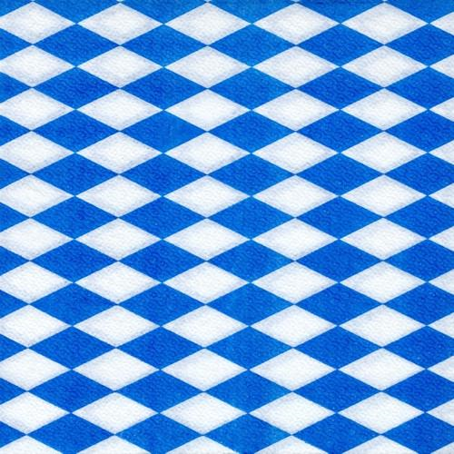 "100 Napkins ""Bavarian blue"" Medium"