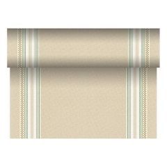 "Table Runner Tissue Green ""Kim"" ""ROYAL Collection"" 24m x 40cm Roll"