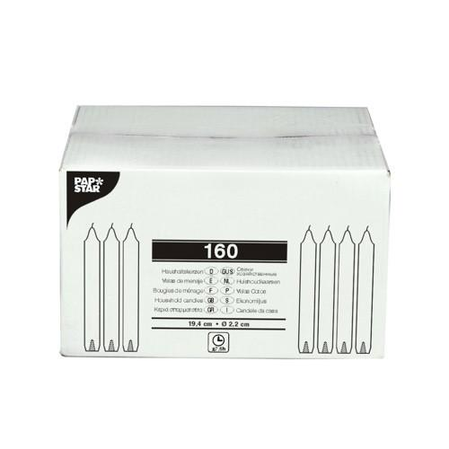 160 Household candles 2;2 cm 19