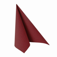 "50 Napkins Burgundy ""ROYAL Collection"" Medium"