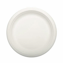 50 Plates not divided White 18cm x 2cm Pure