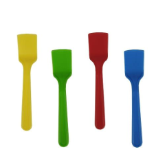 1000 Ice-cream spoons 8.5cm Assorted Colours