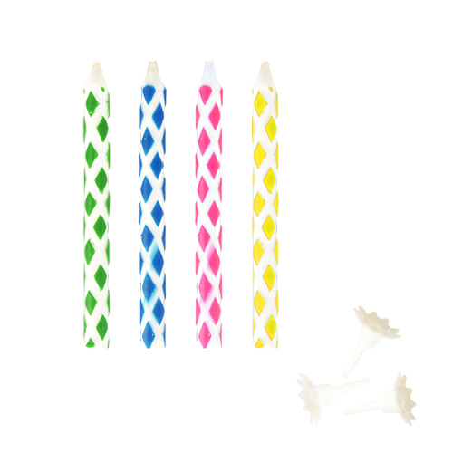 10 Magic Birthday Candles With Holders