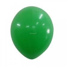 25 Balloons Latex Green