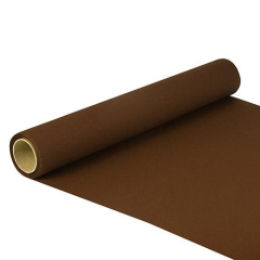 "Table Runner Tissue Brown ""ROYAL Collection"" 5m x 40cm Roll"
