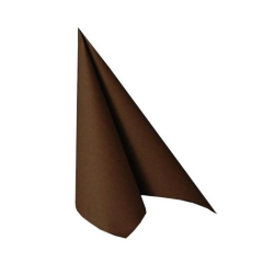 "50 Napkins Brown ""ROYAL Collection"" Medium"