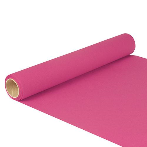 "Table Runner Tissue Fuchsia ""ROYAL Collection"" 5m x 40cm Roll"