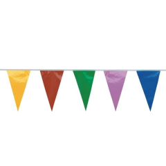Bunting Multi Coloured 20m 80 Flags
