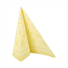 "50 Napkins Yellow ""New Mediterran"" ""ROYAL Collection"" Large"