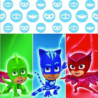 Table Cover PJ Masks 1.37m x 2.43m