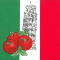 "50 Napkins ""Italy"" Medium"