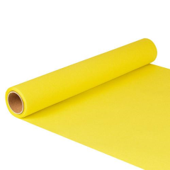 "Table Runner Tissue Yellow ""ROYAL Collection"" 5m x 40cm Roll"